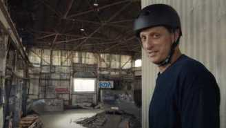 VIDEO: Tony Hawk Skates The Warehouse Level From 'Tony Hawk Pro Skater' In Real Life