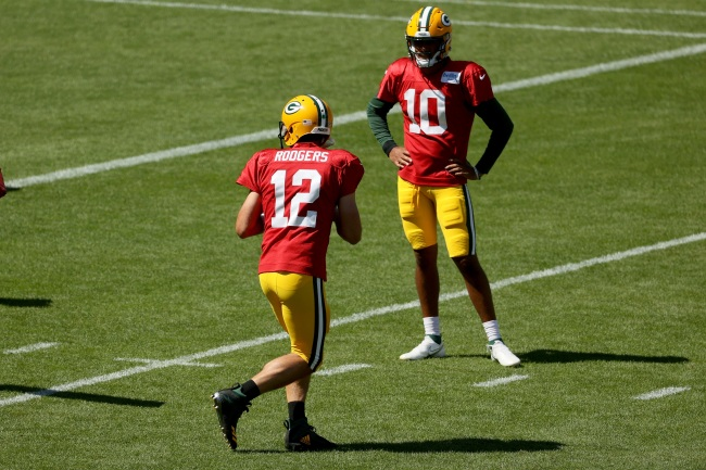 Former NFL quarterback Trent Dilfer claims the Packers drafted Jordan Love in part to make Aaron Rodgers mad