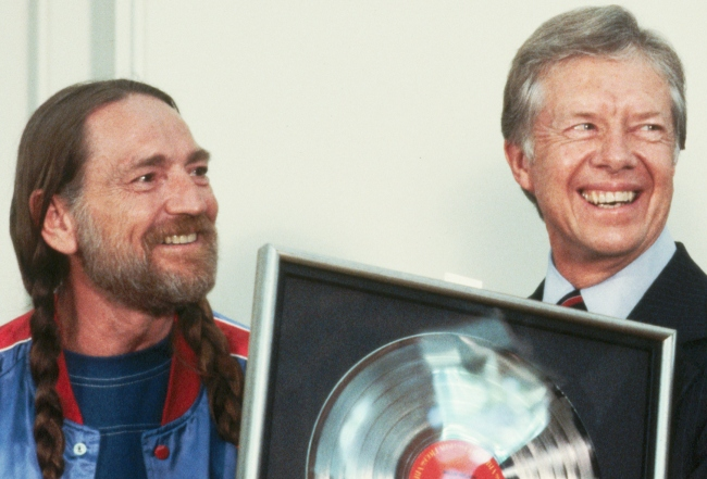 willie nelson jimmy carter son weed