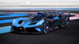 Bugatti Unveils Red-Hot Bolide, A Shooting Star Concept Car With Formula 1 Seating And A 310+ MPH Top Speed