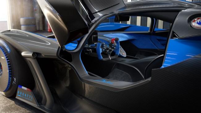 Bugatti Bolide concept car