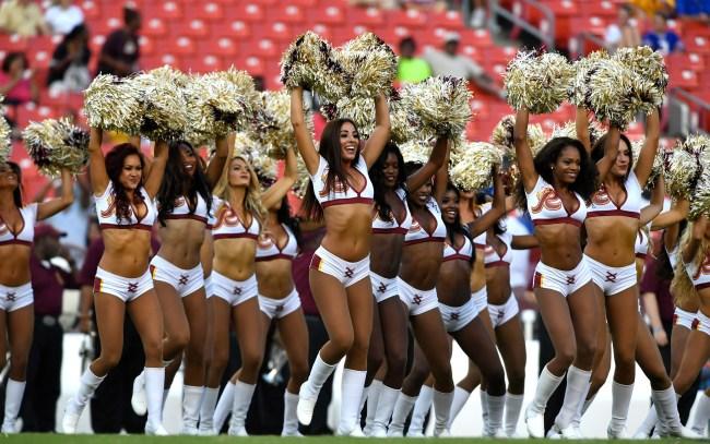 30 Ex-Cheerleaders May File Lawsuit Against Washington Football Team
