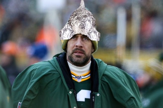 Aaron Rodgers Tin Foil Hat