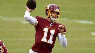 Washington Football Team Plans To Cut Alex Smith This Offseason
