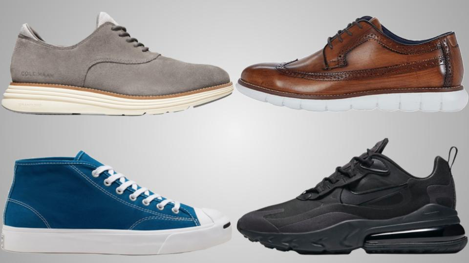 adidas, Converse, Cole Haan, Nike, and