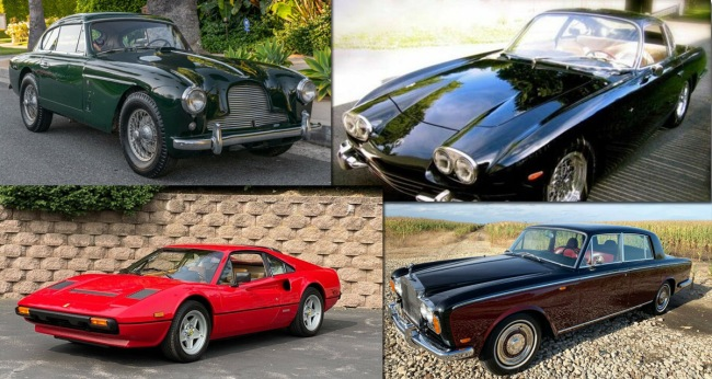 Best Vintage Exotic Cars For Sale Online