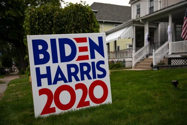 Unhinged Karen Threatens Neighbor Over 'Biden/Harris' Lawn Sign In Electric Video