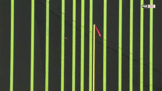 Oklahoma State Used Optical Illusion To Distract Texas Field Goal Kicker