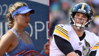 Tennis Star Genie Bouchard Is In A 'Pretty Serious' Relationship With QB Mason Rudolph