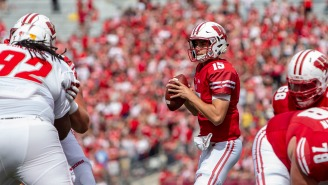 Wisconsin Football Might Be Down To Its Fourth String Quarterback Due To Injury, COVID-19
