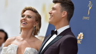 Scarlett Johansson And Colin Jost Get Married In Secret Wedding, Make Announcement For A Great Cause