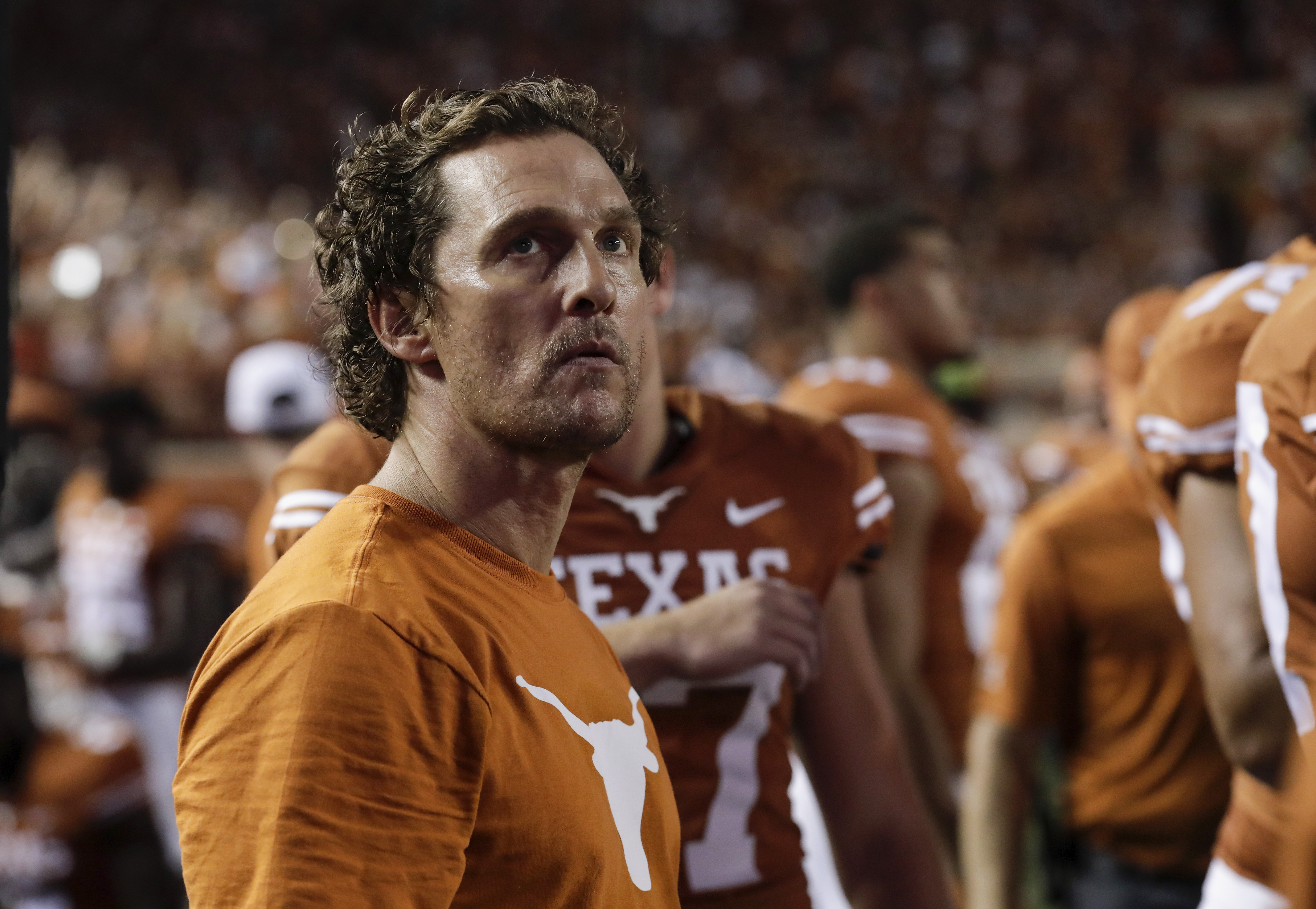 College Football Fans Mock Texas And Matthew McConaughey After Team Fumbles Ball At Goal Line And Loses To TCU