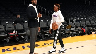 People Are Assuming Bronny James Got Grounded By LeBron Because He Couldn't Hang Out And Play Call Of Duty With Odell Beckham Jr.