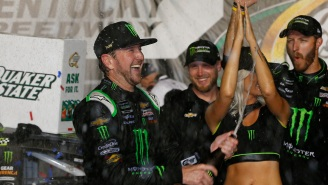 NASCAR's Kurt Busch Describes Historic Night Of Partying With Bill Murray And Eddie Vedder After The World Series