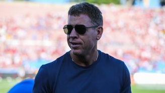 NFL Fans Were Weirded Out By Troy Aikman Talking About How Offensive Lineman's Sweaty Butts Make The Football Wet