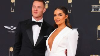 Christian McCaffrey And Olivia Culpo Purchase Magnificent Lake-Front Castle Mansion