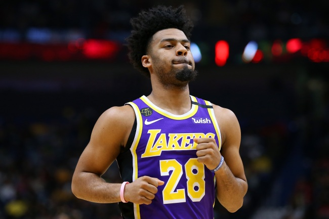 The LA Lakers Team Bus Left Quinn Cook Stranded At The Arena After Championship Win