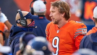 Bears Fans React To QB Nick Foles Apparently Throwing Head Coach Matt Nagy Under The Bus With His Comments About The Team's Playcalling