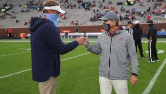 Lane Kiffin Fires Back At Nick Saban For Implying Ole Miss Was Stealing Alabama's Defensive Signals
