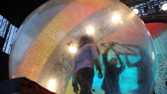 The Flaming Lips Put On A Live Concert Where Everyone In Attendance Was Inside Of A Literal Bubble