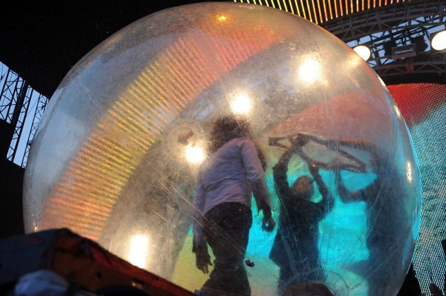 The Flaming Lips bubble