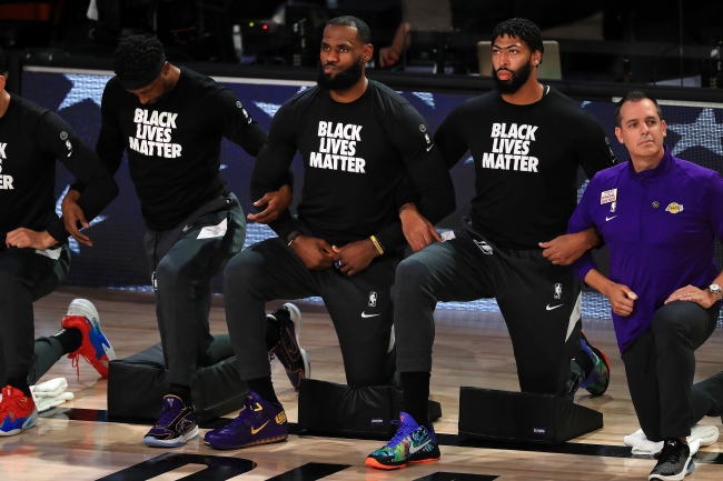 Anonymous Agent Blasts The NBA For Embracing Black Lives Matter Movement 'It Was A Horrible Look For The League'