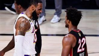 LeBron James Denies Starting Trash-Talking Beef With Jimmy Butler During NBA Finals