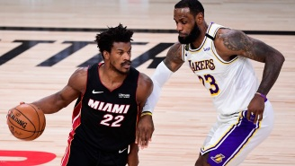 Jimmy Butler Reveals Why He Told LeBron James 'You're In Trouble' During Game 3 Of The NBA Finals