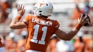 Oklahoma Fans Start Vulgar 'Sam Sucks D—' Chant Directed At Texas QB Sam Ehlinger
