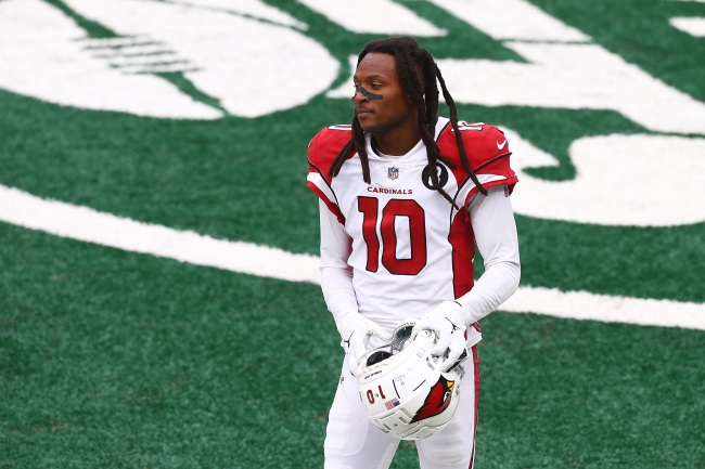 Cardinals' DeAndre Hopkins Reveals Reason Why He Flipped Off Trump Supporters At Parade