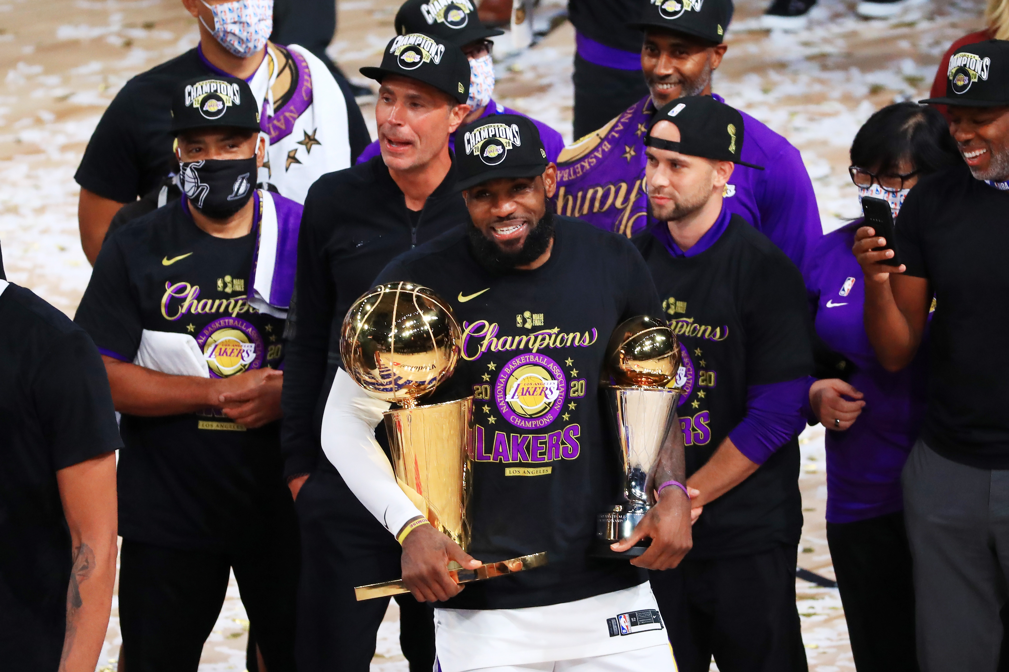 LeBron James Has A Message For Haters After The Lakers Win NBA Championship 'I Want My Damn Respect'