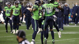 Seahawks' DK Metcalf Shows Off Insane Speed While Chasing Down Cardinals DB Budda Baker After Russell Wilson Interception