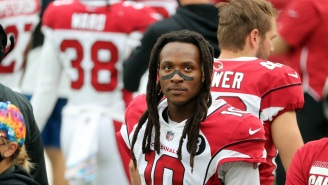 Cardinals WR DeAndre Hopkins Photographed Allegedly Flipping Off Trump Supporters At Parade Before Game