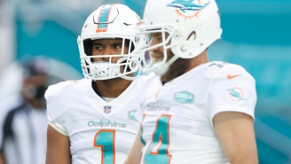 Dolphins QB Ryan Fitzpatrick Is Really Sad About Getting Benched For Tua Tagovailoa 'My Heart Just Hurt All Day, It Was Heartbreaking For Me'