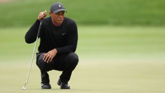 Tiger Woods Watching The End Of The Penn State – Indiana Game Is Why Sports Rule