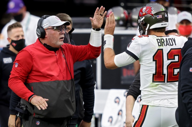 Bucs HC Bruce Arians Claims Tom Brady Had Nothing To Do With Antonio Brown Signing And Absolutely No One Believed Him
