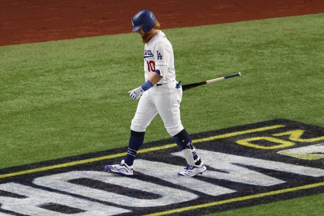 Dodgers' Justin Turner Was Reportedly Removed From Game 6 After Testing Positive For Coronavirus