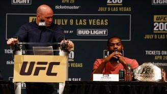 Jon Jones Isn't Happy Dana White Called Khabib Nurmagomedov The GOAT After UFC 254