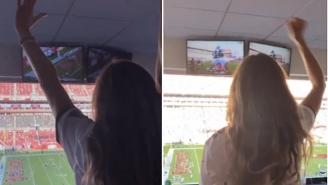Looks Like Gisele Bundchen Had A Grand Old Time Watching Tom Brady And The Bucs Crush The Packers