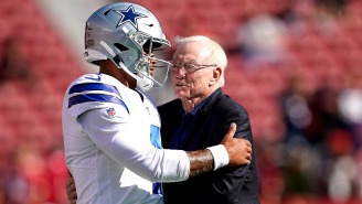 Jerry Jones Responds To Criticism Over Not Getting Prescott Deal Done, Updates Dak's Recovery Timeline