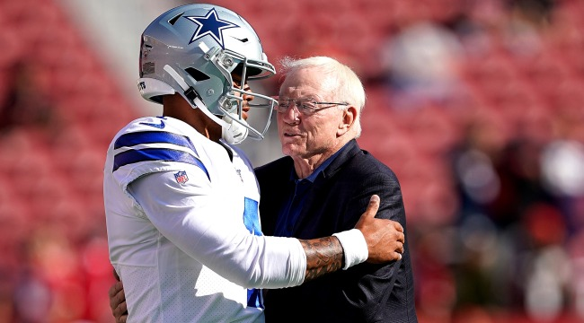 Jerry Jones dak prescott contract talks