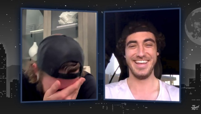 Jimmy Kimmel Asks Cody Bellinger If People Say He Looks High