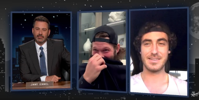 Jimmy Kimmel Asks Cody Bellinger People Say He Looks High