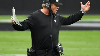 Jon Gruden Allegedly 'Livid' The Raiders Game Wasn't Moved Since The Entire Offensive Line Missed Practice All Week