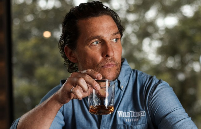 Matthew McConaughey hangover cure advice