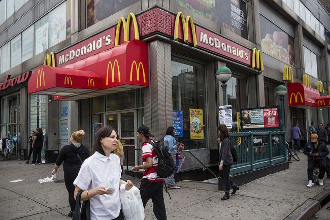 McDonald's Broken Ice Cream machines