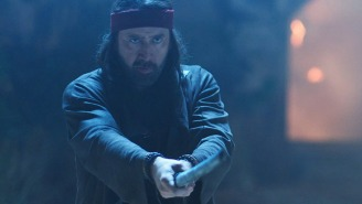 Nicolas Cage Does Jiu Jitsu, Swordfights With Aliens In The Greatest Movie Trailer Of 2020