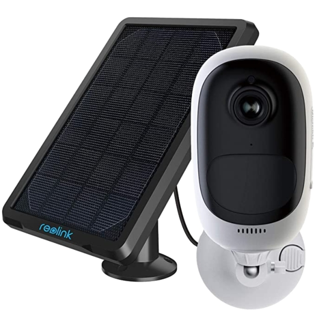 REOLINK Argus Pro Outdoor Security Camera with Solar Panel