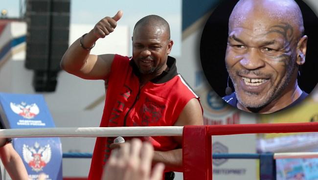 Roy Jones Tells Rogan Every Rule In Fight Is Set To Favor Mike Tyson