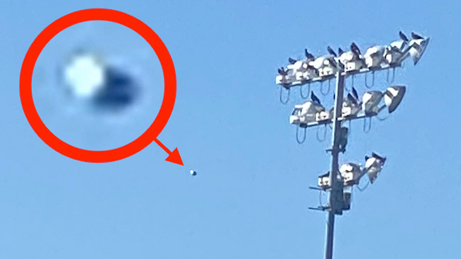 UFO Sighted Over Texas That Shot Away At High Speed Was 100 An Alien Craft Expert